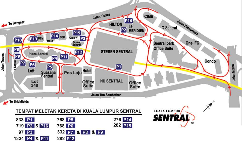 Kl Sentral Car Park Rate