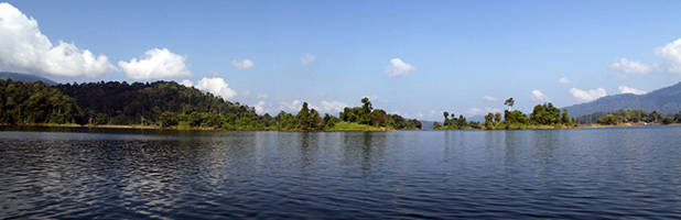 Lake Kenyir panorama 3