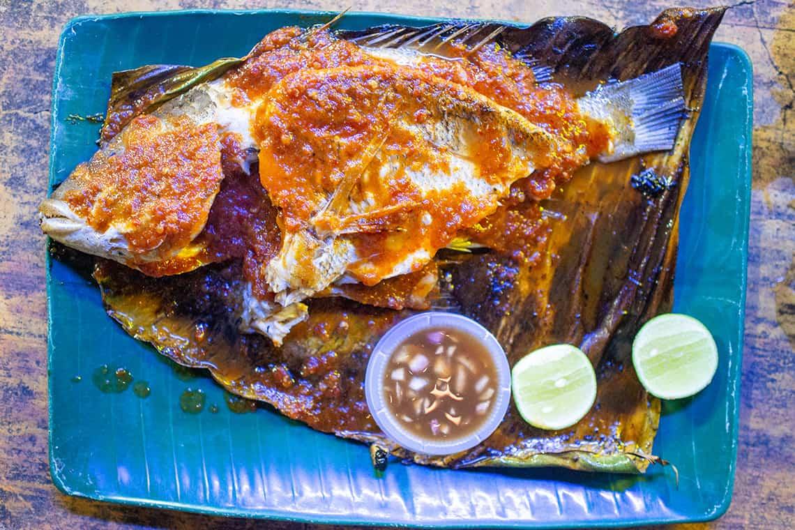 Ikan Bakar in Cherating